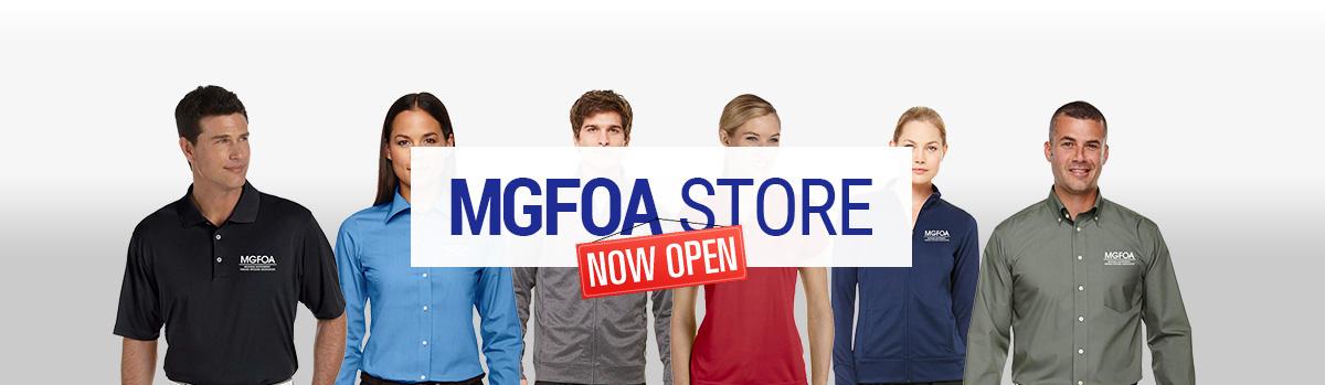 MGFOA Store Now Open